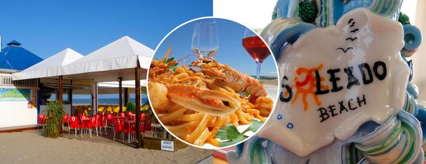 Soleado Beach ristorante e discobar a Cavallino, Venezia