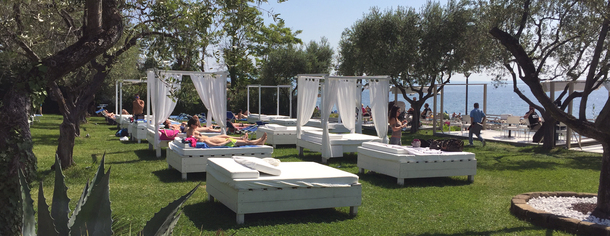 Vista Lago Beach Club, Moniga del Garda