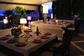 Possibilità di cenare all'aperto al Ristorante estivo dell'Hollywood di Bardolino