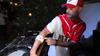 DJ in console al Madai Chiosco Beach Bar di Lonato del Garda, Brescia