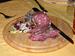 Il Salame nostrano, tipico prodotto bresciano, servito al Ristorante L'Arcangelo di San Polo