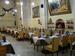 La Sala principale della Trattoria & Vineria L'Arcangelo di Brescia